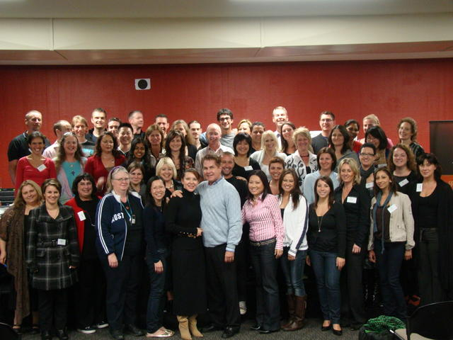 NLP| NLP Training Graduates with Dr. Tad James and Dr. Adriana James